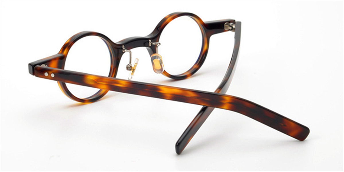 Wide Rim Round High Prescription Glasses Frames