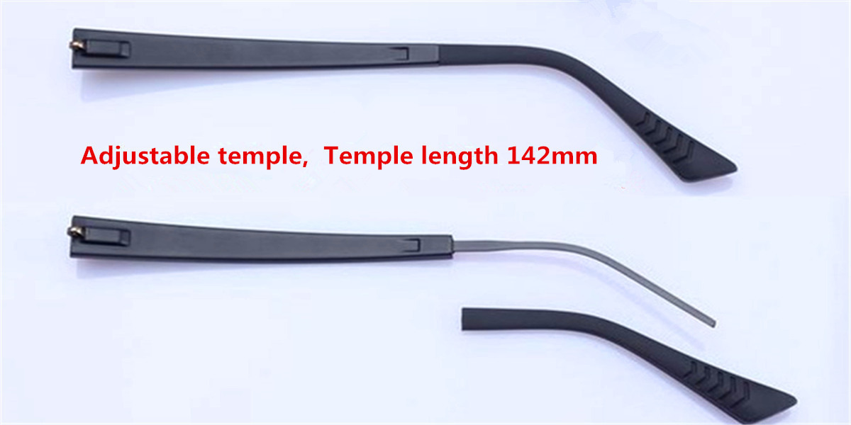 Adjustable Eyeglasses temple for eyeglasses replacement -a2
