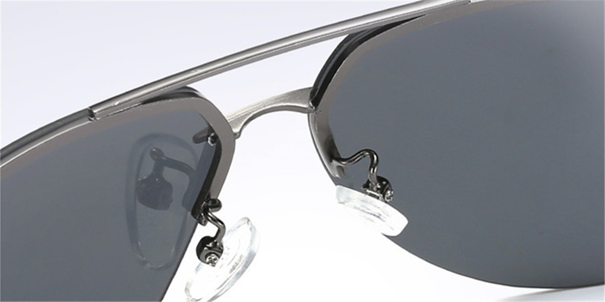 Black Rimless Glasses-d3