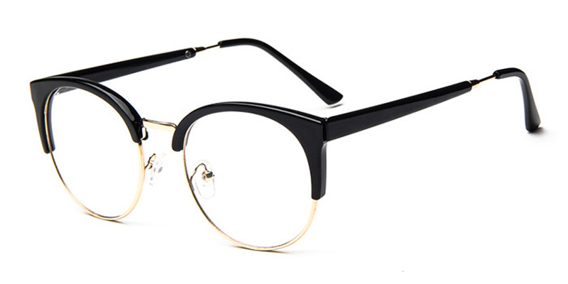 Prescription Round Cat Eye Glasses