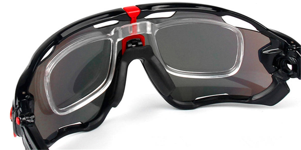 Prescription Cycling Sunglasses 3 Lenses-back