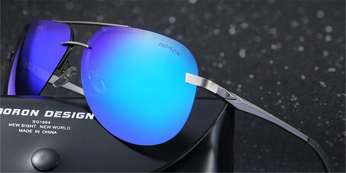Mirror Frameless Sunglassess-d2