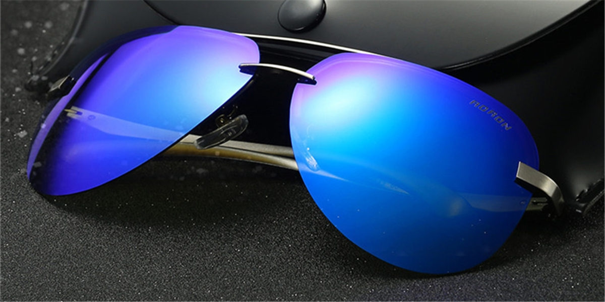Mirror Frameless Sunglassess-f2