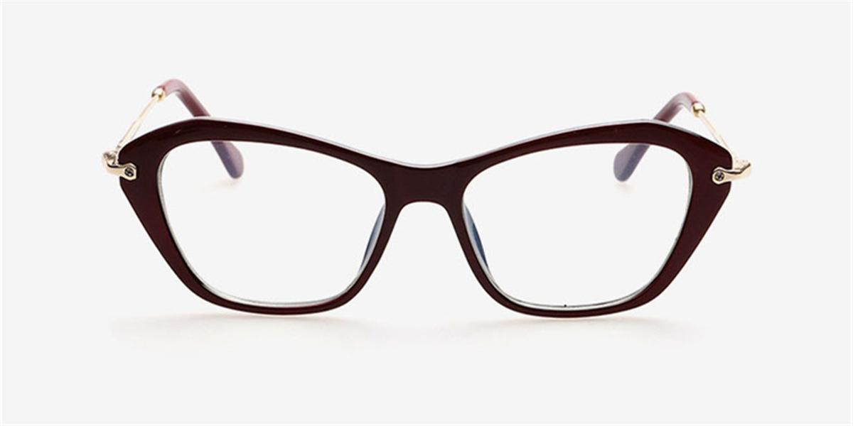 Online Cat Eye Reading Glasses-front