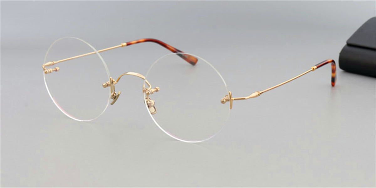 Round Glasses for Men Steve Jobs glasses, golden4-l