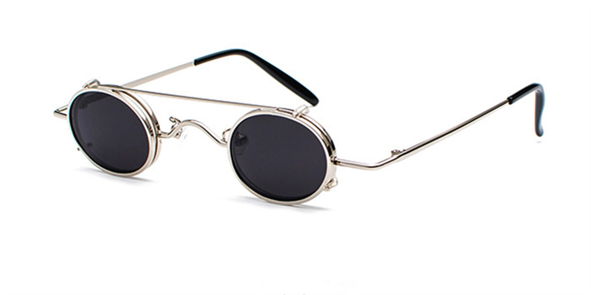 Prescription Designer Sunglasses, Silve-l