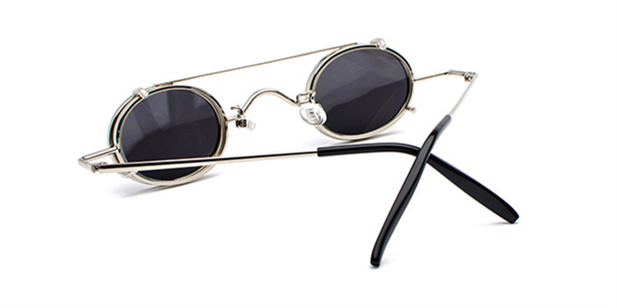 Prescription Designer Sunglasses, Silve-b