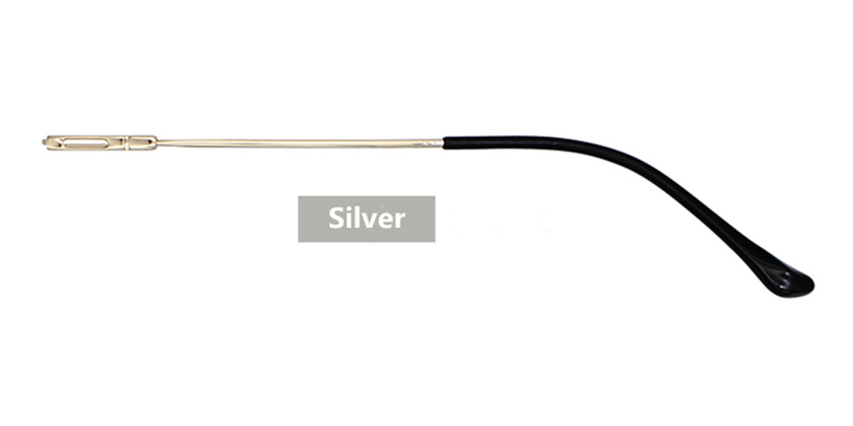 Silver Eyeglasses Temple Replacement 2.7 MM