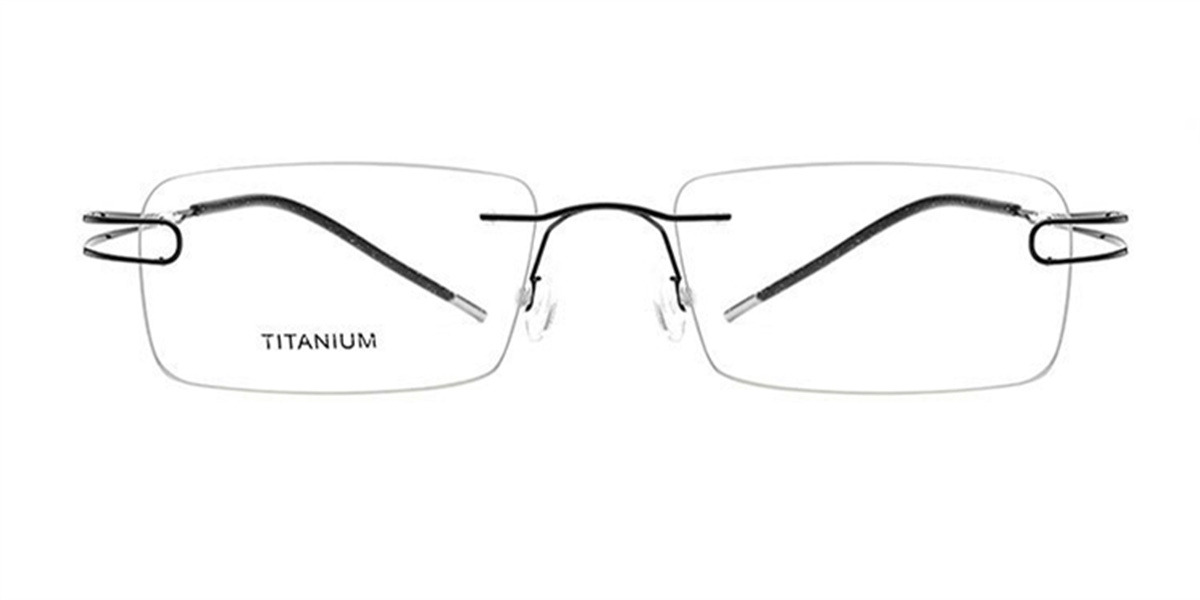 Rimless Glasses  for Oblong Face