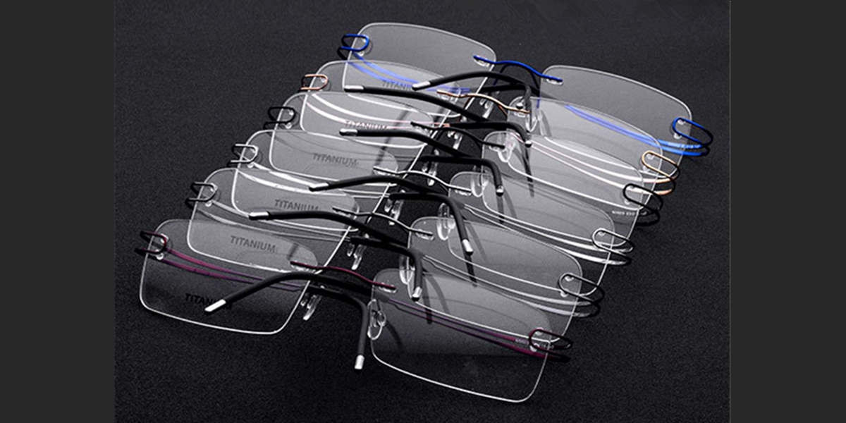 Rimless Glasses  for Oblong Face-s