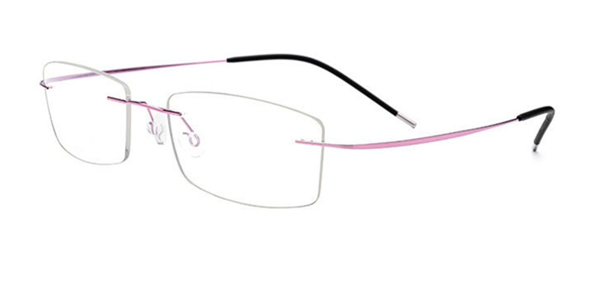 Titanium-Rimless- Glasses