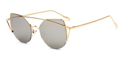 Prescription Hipster sunglasses Golden-Aviator