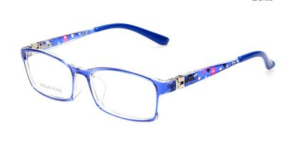 Kids Prescription sports glasses with purple frames
