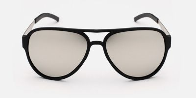 Black Hipster Prescription Sunglasses