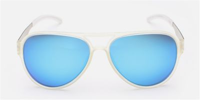 Hipster Prescription Sunglasses, Blue Lenses