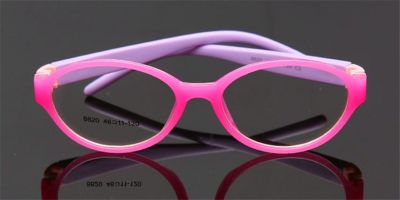 Girls Glasses with Super Light Flexible Acetate Frames