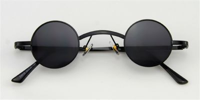 John Lennon sunglasses round, Super Small, Black