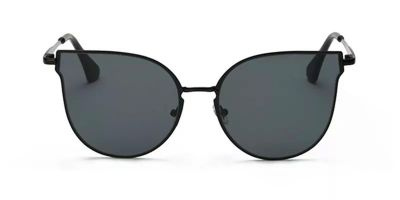 Prescription designer sunglasses,Cat_Eye, Black