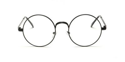 Prescription Glasses with Round Frames, Black