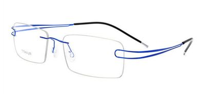 Titanium Rimless Glasses  for Oblong Face
