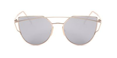 Virtual Try on Glasses Oval Face Female with Aviator Frames