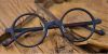 Vintage Small Round glasses for men Matte Black -c