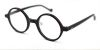 Vintage Small Round glasses for men Matte Black -l